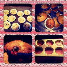 Schokosplit Muffins und Weihnachtliche mit Vanille Anis und Zimt