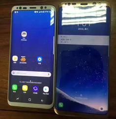 Новое изображение позволяет сравнить смартфоны Samsung Galaxy S8 и S8 Plus