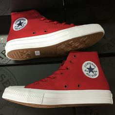 19339a541b49 Converse Chuck Taylor II new All Star unisex high sneakers canvas shoes  Classic pure color Skateboarding