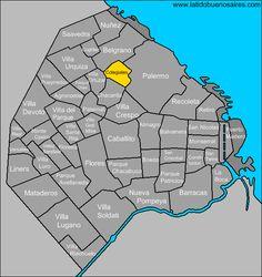 MAPA DE COLEGIALES BUENOS AIRES