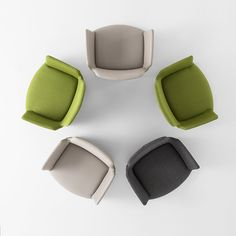 Altea in Green and Gray from Sandler Seating.
