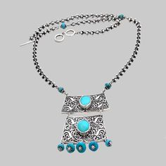 Colier din argint cu turcoaz. Turquoise Necklace, Jewelry, Jewlery, Jewerly, Schmuck, Jewels, Jewelery, Fine Jewelry, Jewel