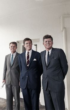 Kennedy Brother's...John,Ted & Robert