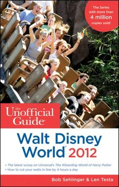 The Unofficial Guide Walt Disney World 2012--can't go to Disney w/out reading it!  Best out there. :)