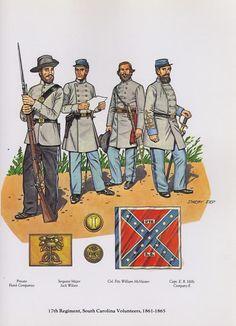"""Ejercito confederado. de 1852 al 1867"""" - CIVIL WAR 1852-1867"""