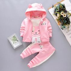 Baby Girl Cat Clothing Set [3M-4T] 39.99 CAD Newborn Girl Outfits, Baby Girl Newborn, Toddler Outfits, My Baby Girl, Kids Outfits, Baby Girls, Baby Girl Letters, Winter Newborn, Kids Vest