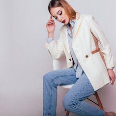 White-Pfirsich Mix Blazer von YuliaGural auf Etsy https://www.etsy.com/de/listing/385678208/white-pfirsich-mix-blazer