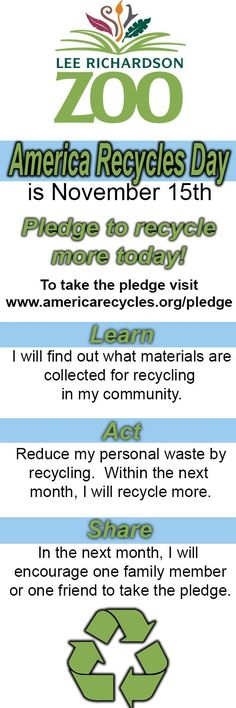 The impact of recycling: manufacturers can save energy and reduce ...