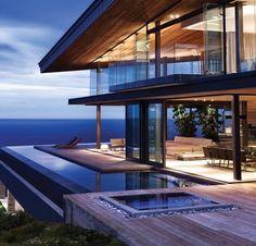 Modern ocean view