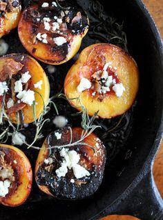 Sugar Roasted Peaches