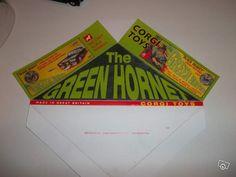 The green hornet Green Hornet, Corgi Toys