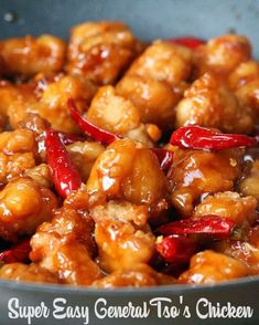 General Tso's Chicken Recipe by Tasty Save Money And Make Your Ow. - General Tso's Chicken Recipe by Tasty Save Money And Make Your Own Chinese Food At H - Low Carb Vegetarian Recipes, Cooking Recipes, Healthy Cooking, Healthy Snacks, Cooking Steak, Cooking Bacon, Healthy Recipes, Dinner Healthy, Comida Filipina