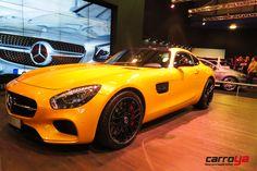 El imponente #Mercedes AMG GT S también estará presente en #elsalóndelautomóvil