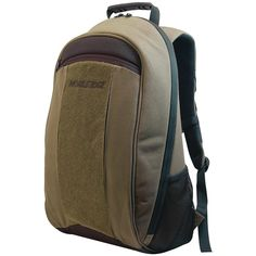 """Mobile Edge 17.3"""" Eco-friendly Canvas Backpack (olive)"""