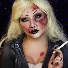 Bruised Bride of Chucky