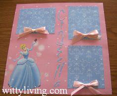 Cinderella- Disney scrapbook page ideas   scrapbook disney layouts ideas liberty square riverboat scrapbook ...