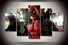 At Octo Treasures we specialize in high quality large multi panel wall canvas, purchase this amazing Deadpool Marvel Comic super hero wall canvas today we will ship the canvas for free. This is the perfect center piece for your home. It is easy to assemble and hang the panels together which makes this a great gift for any Marvel Comic fans. The multi panel canvas is unique and creative, you and your guests will be amazed every time you enter the room. We offer professional packaging for…