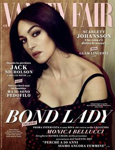 Monica Bellucci for Vanity Fair Italy December 2014