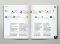 Brockhaus Encyclopedia Infographics on the Behance Network