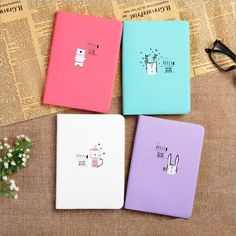 """Good Mood"" Weekly Monthly Planner Agenda Scheduler Any Year Study Notebook Book Stationery, Stationery Items, Cute Stationery, Korean Stationery, Stationary Notebook, Diy Notebook Cover For School, Notebook Cover Design, Beautiful Notebooks, Cool Notebooks"