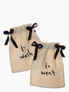 Wash & Wear Lingerie Bag Set, Natural