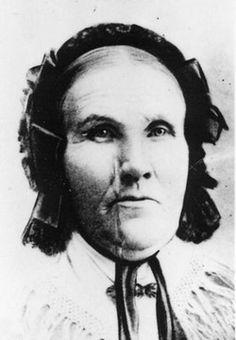 Elizabeth Prentice Burnside 1827-1914 Mount Pleasant City Cemetery  Mount Pleasant Sanpete County Utah, USA Plot: A_67_1_3