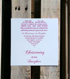 Check out this item in my Etsy shop https://www.etsy.com/uk/listing/500911152/christening-card-daughter-christening