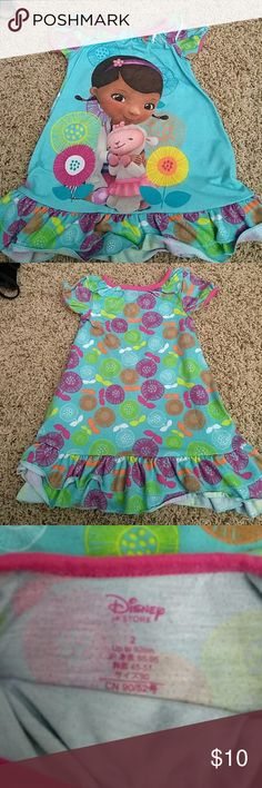 Doc McStuffins Nightgown Very heavy for a nighgown. Has some pilling from wash. Still in great shape! Pajamas Nightgowns