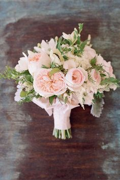 blush pink peony wedding bouquet - brides of adelaide