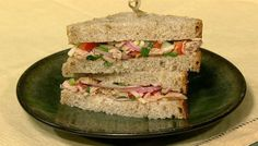 A gourmet version of your favorite sandwich!  I love it on a bed of lettuce instead of bread!