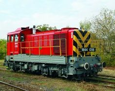 MÁV M44 Bobó Rail Train, Rail Transport, Pennsylvania Railroad, Diesel Locomotive, Commercial Vehicle, Yesterday And Today, Diesel Engine, Transportation, Around The Worlds