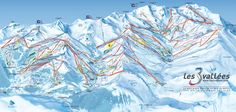 The toughest day skiing ever? A full on trip around the whole of the 3 Valleys…