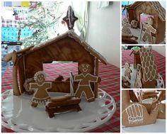 Gingerbread stable