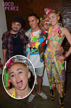 miley cyrus jeremy scott nyfw show