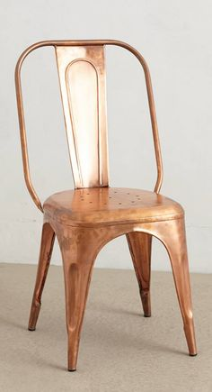 Copper Dining Chairs #mannafromdevon #diningideas