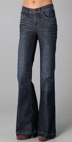 James Jeans Disco 70's Super Flare Jeans thestylecure.com