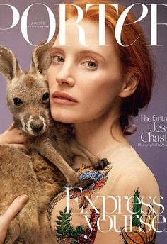 Jessica Chastain Almost Gets Upstaged by a Baby Kangaroo on Porters Summer Cover (Forum Buzz) http://ift.tt/1pYUCyW Our forums have always been huge supporters of Porter ever since it debuted on newsstands worldwide back in 2014. We were also pretty content flipping through our copies of the Spring 2016 issue with Amber Valletta on the cover (even though we werent overly fond of the actual shot) until Porter released the cover for its upcoming edition getting us in full anticipation mode…