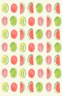 watermelon #pattern