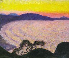 Georges Lacombe (1868-1916) – Baie de Saint-Jean-de-Luz (Côte de Sainte-Barbe), vers 1904.