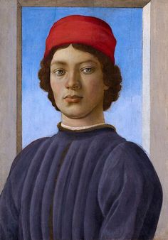 Filippino Lippi (Italian, Early Renaissance, 1457-1504): Portrait of a Youth, c.1485. Oil and tempera on panel, overall: 52.1 x 36.5 cm (20-1/2 x 14-3/8 in.) framed: 90.8 x 71.8 x 15.2 cm (35-3/4 x 28-1/4 x 6 inches). National Gallery of Art, Washington DC, USA. Franka's face.