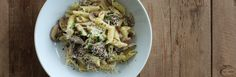 Mushroom Pasta with Parmesan and Lemon Recipe from Jessica Seinfeld | Great recipes you and your family will love