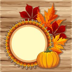 Autumn elements and gold leaves background vector 02 - Vector Background free download