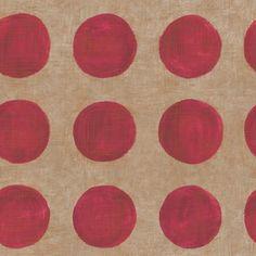 """The Wallpaper Company - Papier Peint 20.5"""" Nouvelle Tendance Rouge - WC1281144 - Home Depot Canada"""
