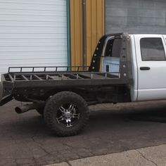 Photo: Uploaded from the Photobucket Android App. This Photo was uploaded by himarker Ford F250 Diesel, Cummins Diesel Trucks, Ford Trucks, Welding Trailer, Welding Trucks, Custom Truck Beds, Custom Trucks, Flatbeds For Pickups, Custom Ute Trays