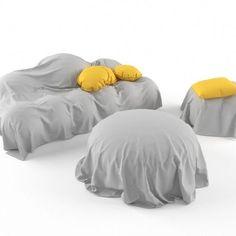 Cloth Sofa – free 3D model ready for CG projects. Available formats: OBJ (.obj), 3D Studio (.3ds), Autodesk FBX (.fbx), 3D Studio Max (.max)