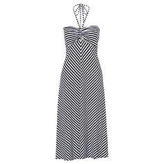 3f0e159379 Halter Neck Maxi Dress - Stripe – Target Australia
