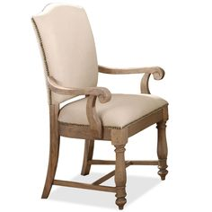 Coventry Two Tone Upholstered Arm Chair by Riverside Furniture x2