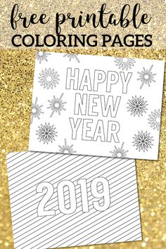 happy new year coloring pages free printable new years coloring pages for kids and adults celebrate with new year coloring sheets