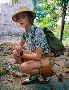 .Safari trail -- time for a break