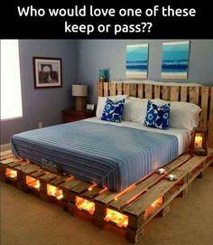 Homemade bed frame